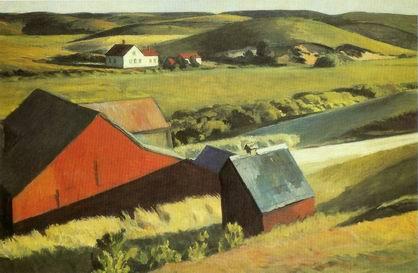 edward hopper, american landscape