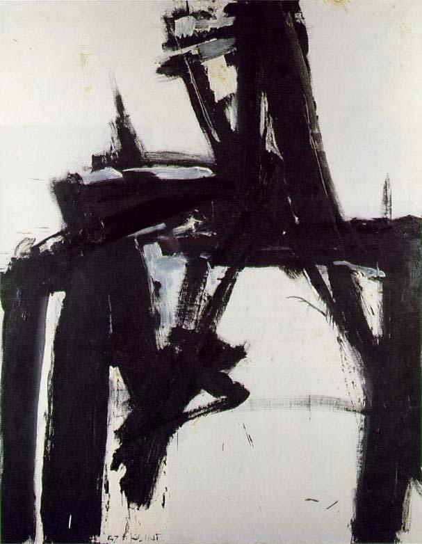 Franz Kline, untitled, 1957