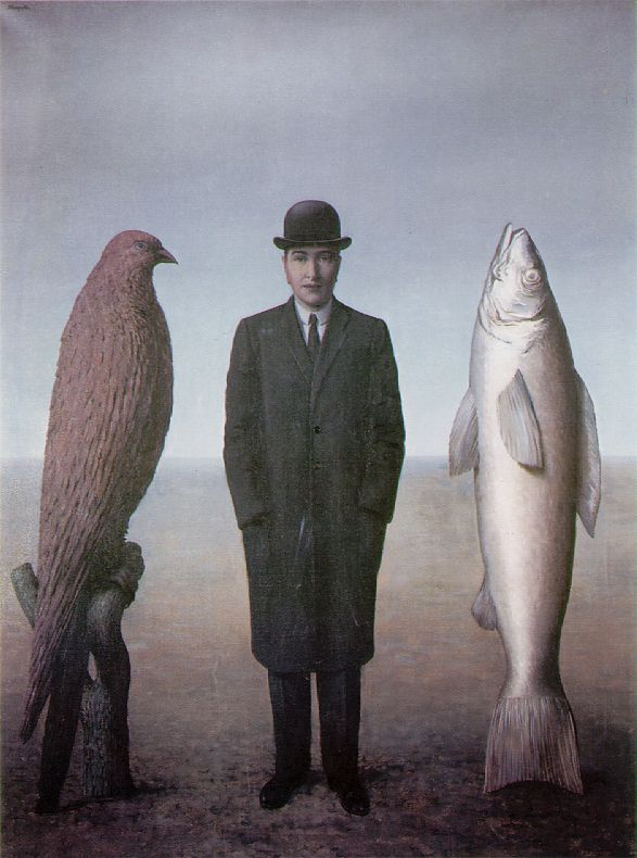 René Magritte, presence of mind