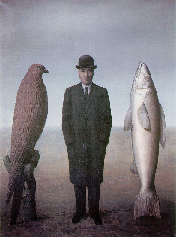 magritte, presence of mind