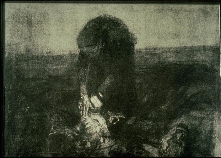 käthe kollwitz, na de veldslag