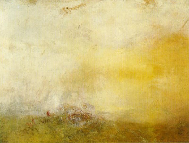 joseph mallord william turner, sea monsters