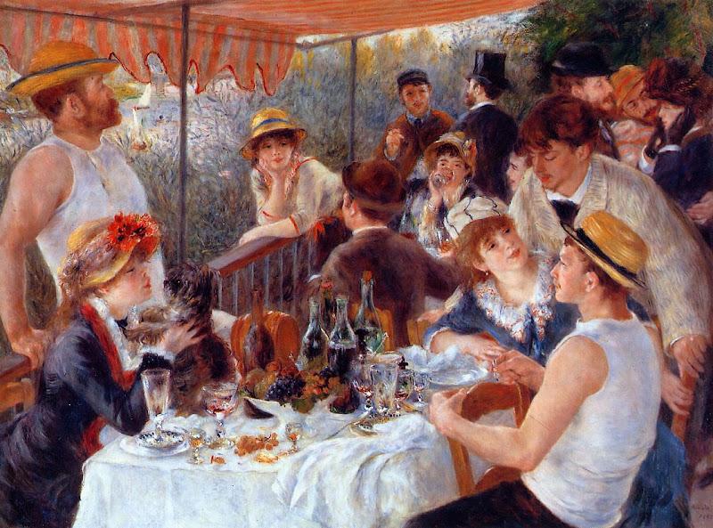 Pierre-Auguste Renoir, le dejeuner des canotiers