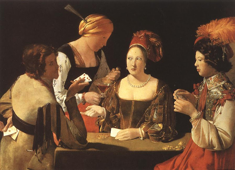 georges de la tour, cheater with ace of diamonds