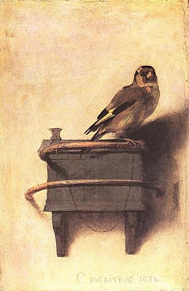 Carel Fabritius, het puttertje