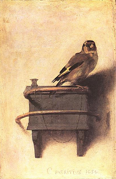 carel fabritius, t puttertje