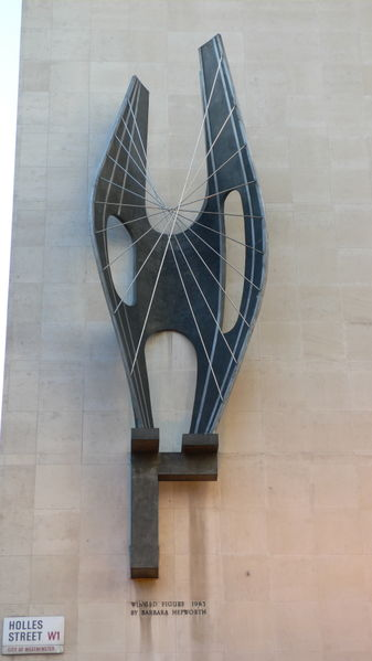 barbara hepworth, winged figure