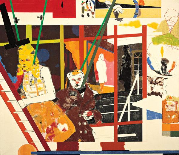Ronald Brooks Kitaj, portret van Walter Lippman