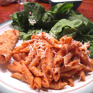 PENNE WITH TRAPANESE PESTO