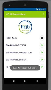 Radio HCJB- screenshot thumbnail