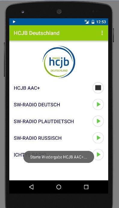 Radio HCJB- screenshot