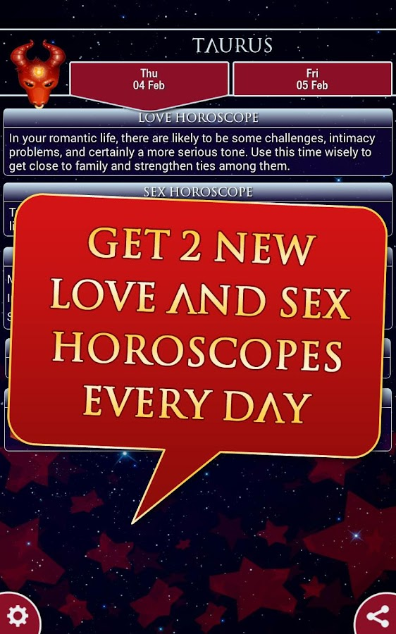 Love & Sex Horoscope 2017- screenshot