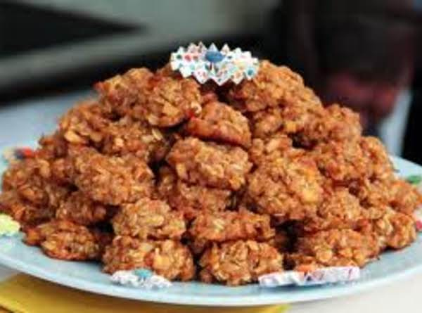 Apple-oatmeal Spice Cookies Recipe