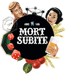 Logo of Mort Subite While Lambic