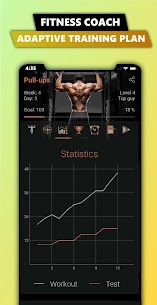 100 Pull Ups – Upper Body Workout, Men Fitness 2.9.0 Unlocked MOD APK Android 2