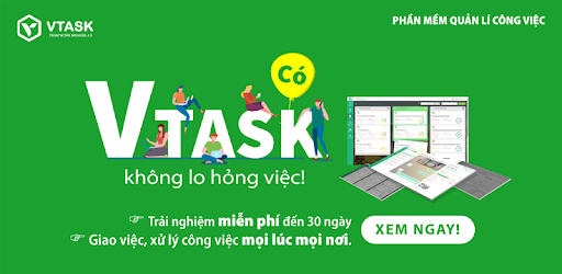 VTask - 4.0 online job management application. Work management wherever you are