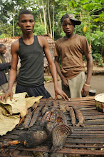 Photo: wanna smoked fish or a smoked bonobo?