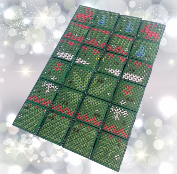 """Twas the night before Christmas and all through the house everyone was smoking, even the mouse,"" according to Canada's Coast2Coast Medicinals, which is selling this marijuana advent calendar."