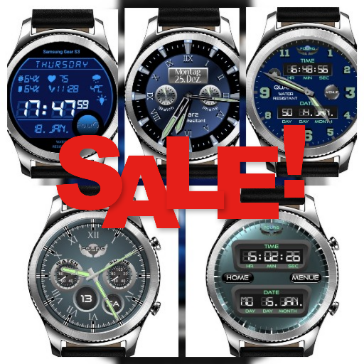 Watch Face Watchpack with 5 watches for Watchmaker