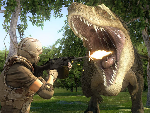 Dinosaur Hunter Dino City 2017  captures d'écran 1