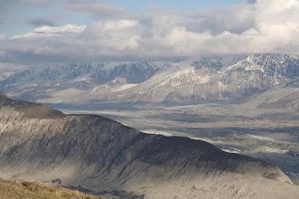 Photo: Mount Logan in far back (left)