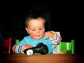 Photo: Derby-Car - komplett gedrechselt.