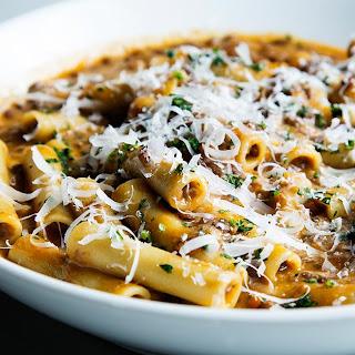 Pasta e Lenticchie (Pasta with Lentils).