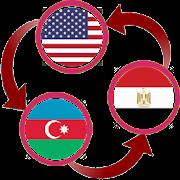 US Dollar To Azerbaijani Manat and EGP Converter