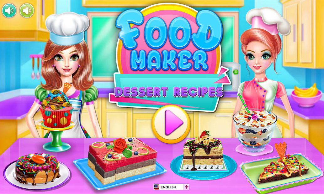 Food maker - dessert recipes Android App Screenshot