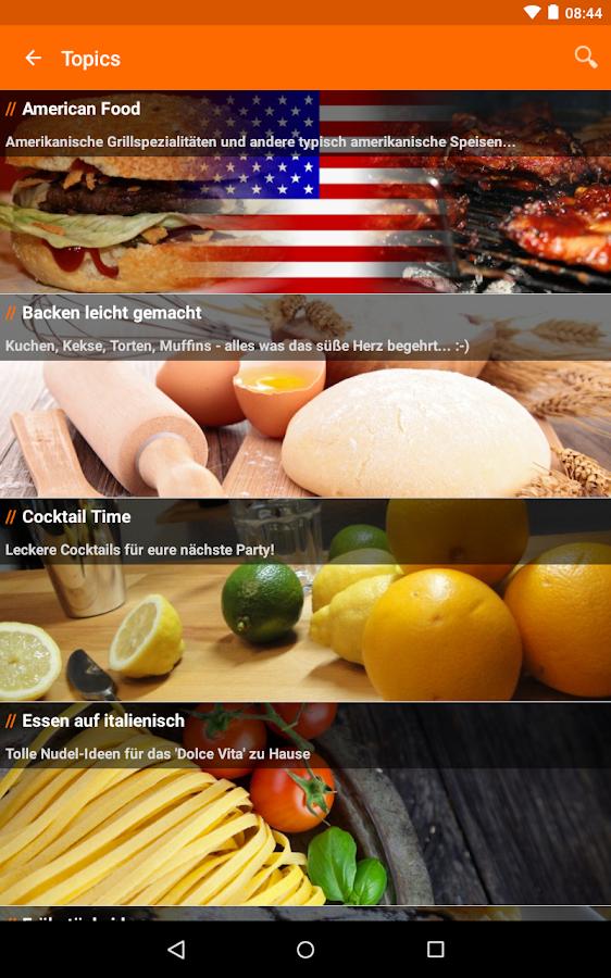 cooking4life- screenshot