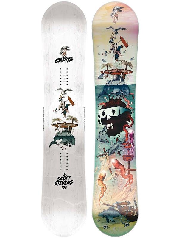 Capita Snowboards 2017-2018