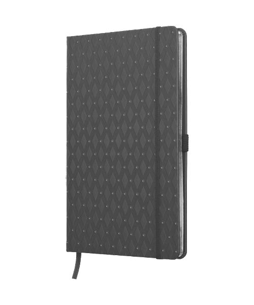 Anteckningsbok ROMB - grå/silver