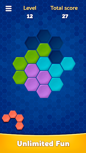 Hexa Block Puzzle apkdemon screenshots 1