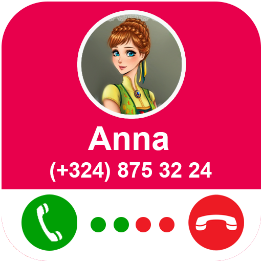 Call From Anna - Snow Princess