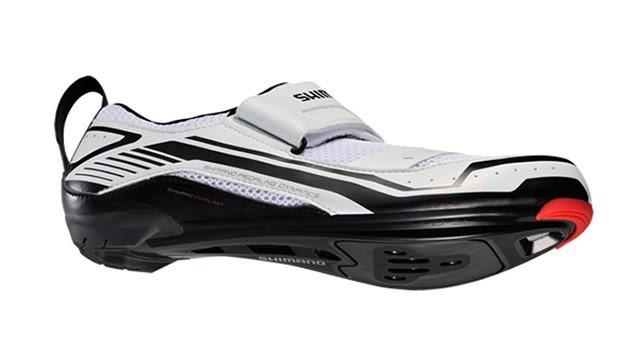 lateral zapatillas triatlón Shimano SH-TR32
