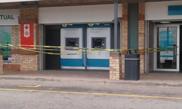 ATM robbery at Motherwell Shopping Complex