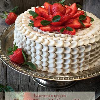 Red Velvet Cake (raw, vegan, GF)
