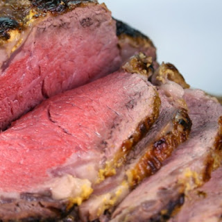 Prime Rib with Dijon and Whipped Horseradish Cream Recipe