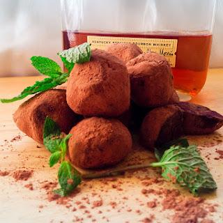 Dark Chocolate *Mint Julep Truffles