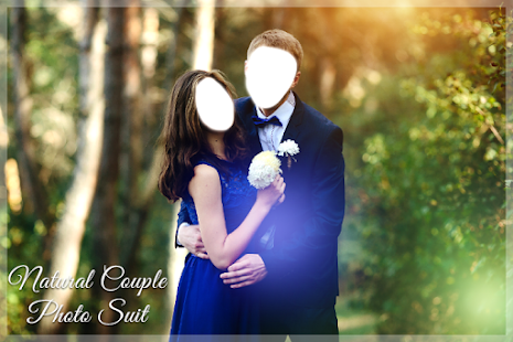 Natural Couple Photo Suit Editor - náhled