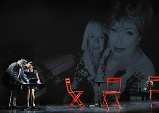 Photo: WIEN/ Kammerspiele: CHUZPE von Lily Brett. Premiere am 22.11.2012. Inszenierung: Dieter Berner. Otto Schenk, Sandra Cervik. Foto: Barbara Zeininger.