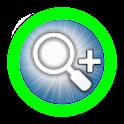Magnifying Glass Flashlight icon