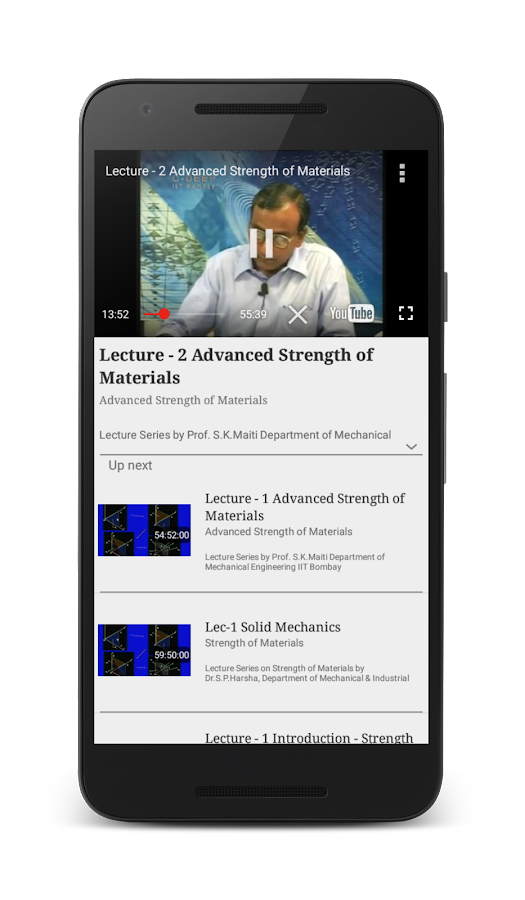 Strength of Materials (SOM)- screenshot