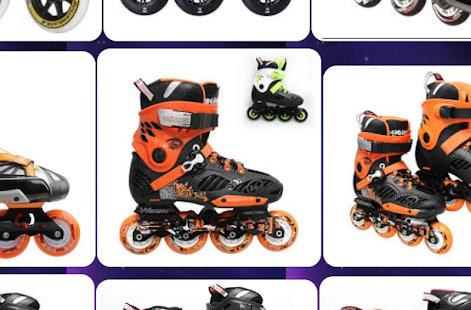 Roller Skates Design - náhled