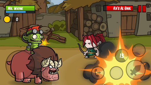 Đánh boss trong Battle Hunger mod full