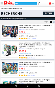 Anime Store Capture d'écran
