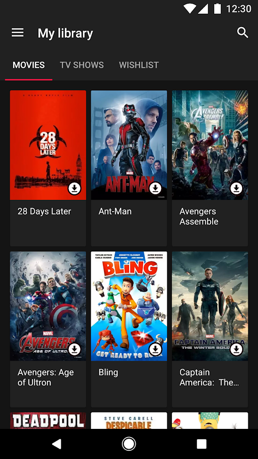 Google Play Movies & TV- screenshot