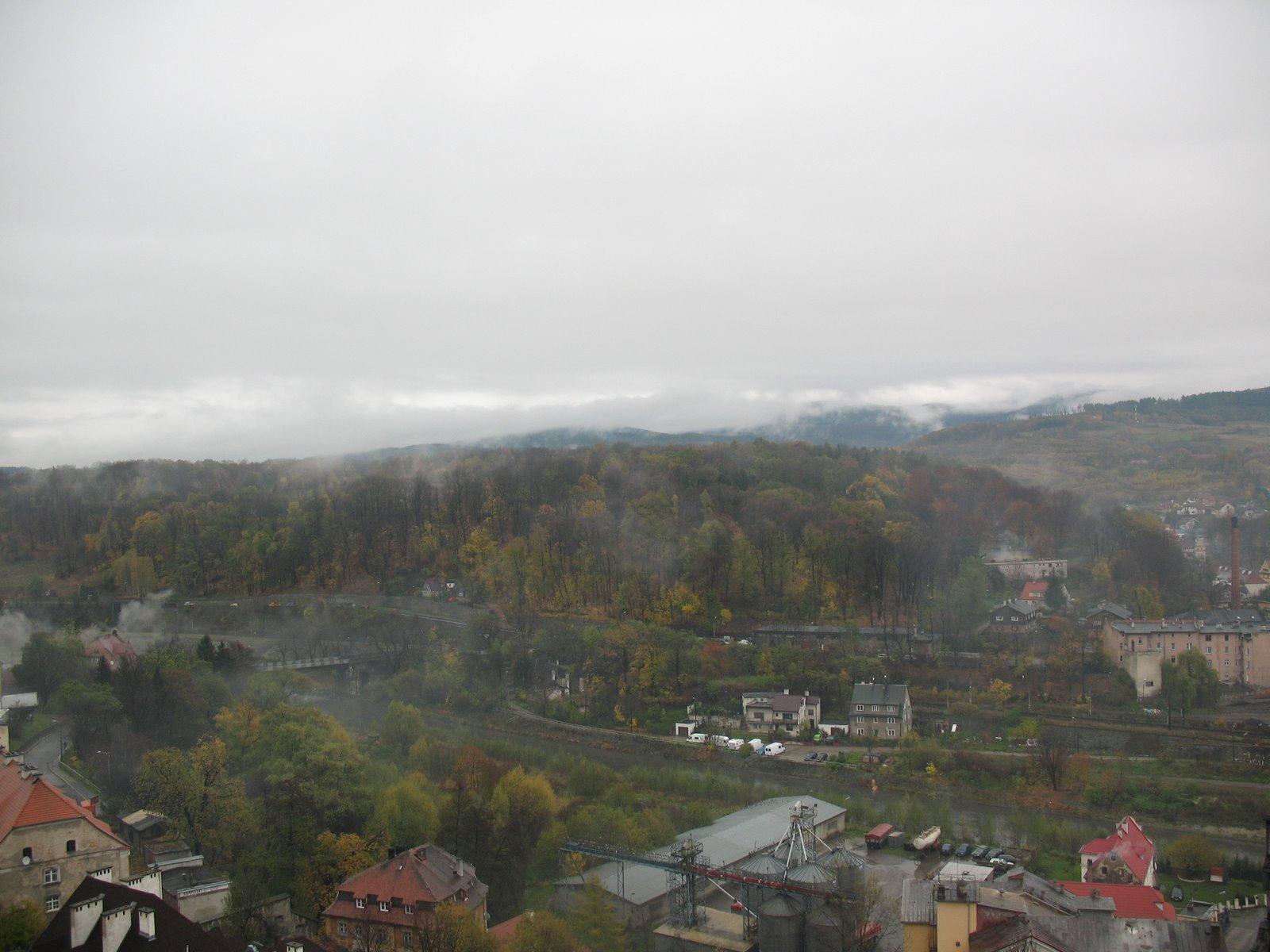Photo: Twierdza kłodzka - widok ze szczytu