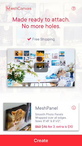 Canvas Prints and Photo Tiles by MeshCanvas® - screenshot