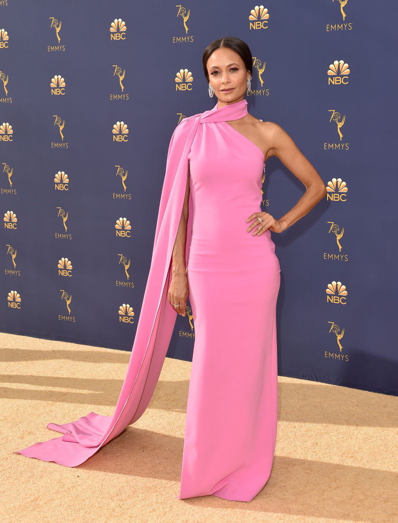 Thandie Newton at the 2018 Emmy Awards.